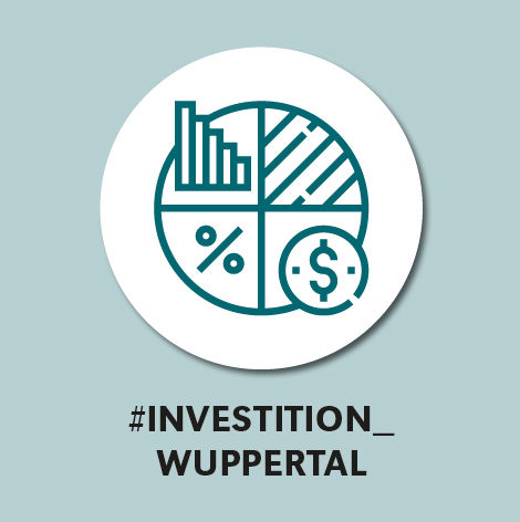 Piktogramm: Investition Wuppertal