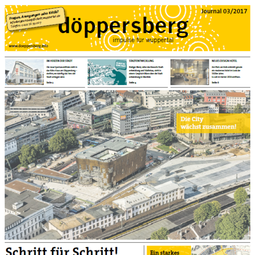 Cover Döppersberg Journal