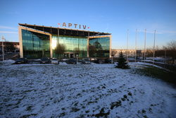 The building of Aptiv.