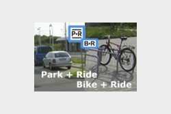 Logo Park+Ride Bike+Ride